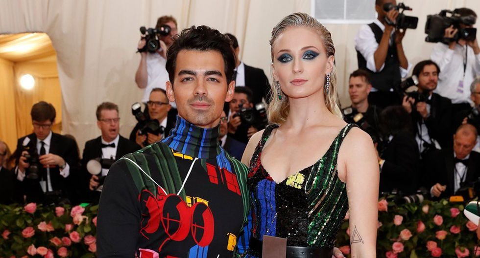 Joe Jonas y Sophie Turner. (Foto: Agencias)