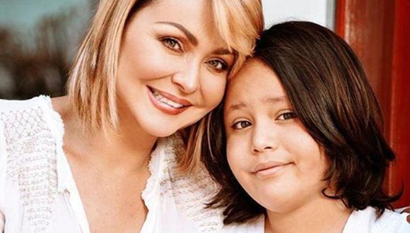 Gabriela Spanic junto a su pequeño, quien casi pierde la vida cuando era más pequeño (Foto: Instagram de Gabriela Spanic)