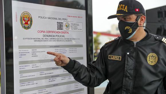 La denuncia policial virtual tiene la misma validez de una denuncia realizada en una comisaría (Foto: Mininter / Presidencia)
