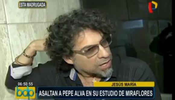 Miraflores: roban US$20 mil a cantautor Pepe Alva en su estudio