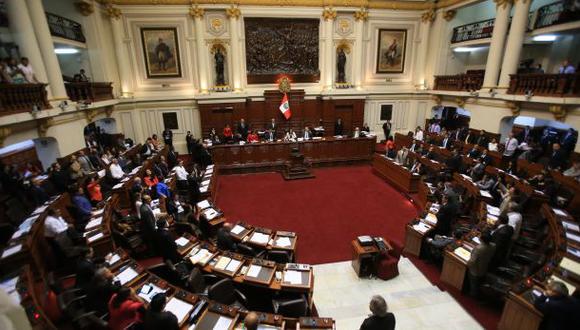 Seis congresistas serían sancionados por el pleno del Congreso