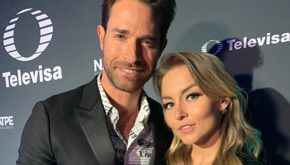 "Sebastián Rulli y Angelique Boyer son parte del elenco de la telenovela ""Vencer el pasado"". (Foto: @sebastianrulli)"