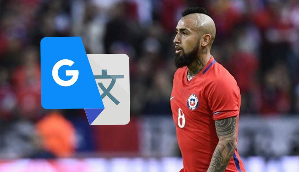 Un usuario decidió escribir el nombre de Arturo Vidal en Google Traductor y la respuesta le dio una gran sorpresa. (AFP)