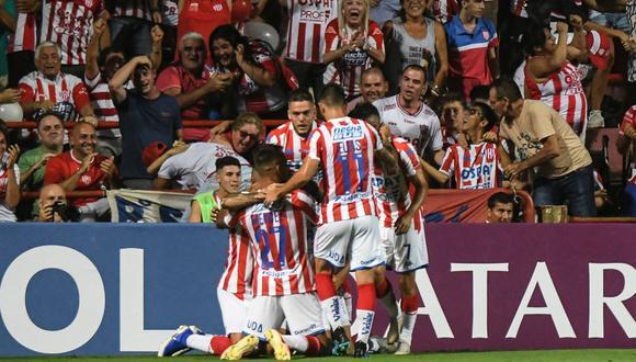 Unión vs. Mineiro por Sudamericana. (Foto: AFP)