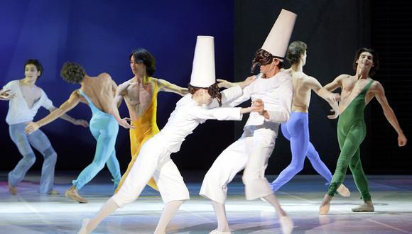 Miembros del Ballet Bejart Lausanne. (Foto: AFP)