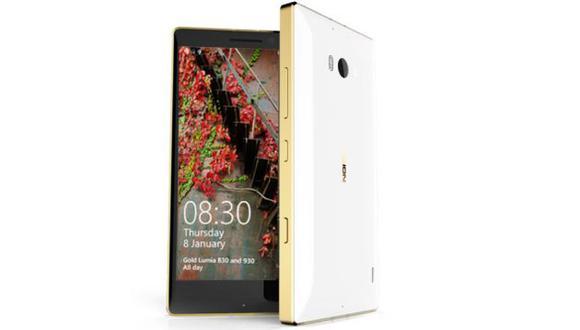 Microsoft sorprende con ediciones de oro de Nokia Lumia
