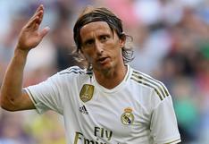Luka Modric y la dura autocrítica al Real Madrid luego de la derrota frente al Shakhtar