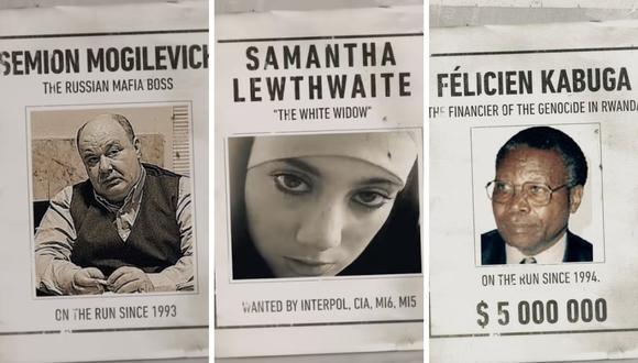 """""""Los más buscados del mundo"""" llegó a Netflix para contar la historia de cinco criminales que no han sido capturados. (Captura de pantalla / YouTube)."""