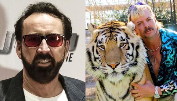 """Nicolas Cage debutará en televisión dando vida a Joe Exotic de """"Tiger King"""". (Foto: AFP/Netflix)"""