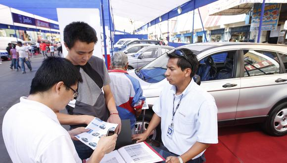 La venta de vehículos livianos nuevos  anotó su quinto mes de incremento consecutivo. (Foto: GEC)