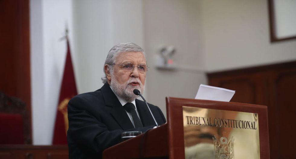 Ernesto Blume defendió la sentencia del TC que ordenó la liberación de Keiko Fujimori. (Foto: Giancarlo Ávila / GEC)