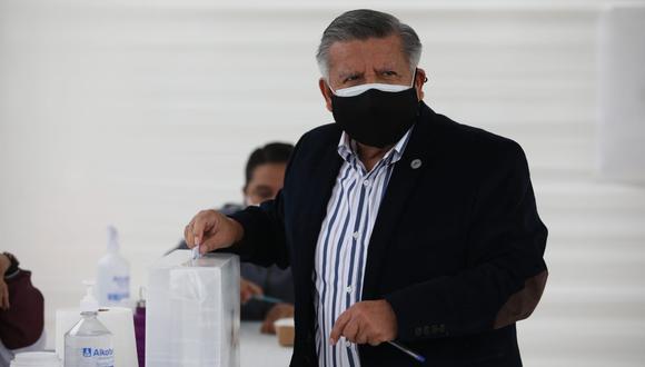 César Acuña era candidato a la presidencia por APP cuando presentó la demanda ante Indecopi (Foto: Britanie Arroyo / @photo.gec / Archivo)