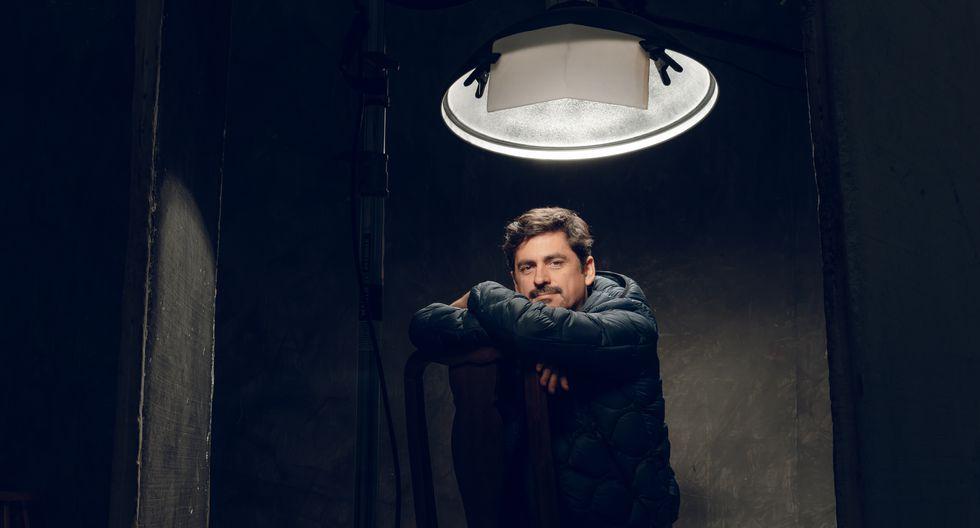 Villanueva, director de teatro y miembro de Ópalo desde 1998. (Foto: Fotos: Eduardo Irujo)