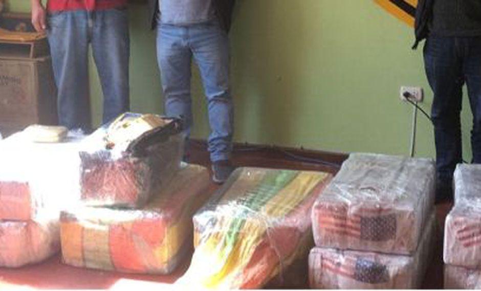 PNP decomisa más de 230 kilos de marihuana tipo 'creepy' en Tacna