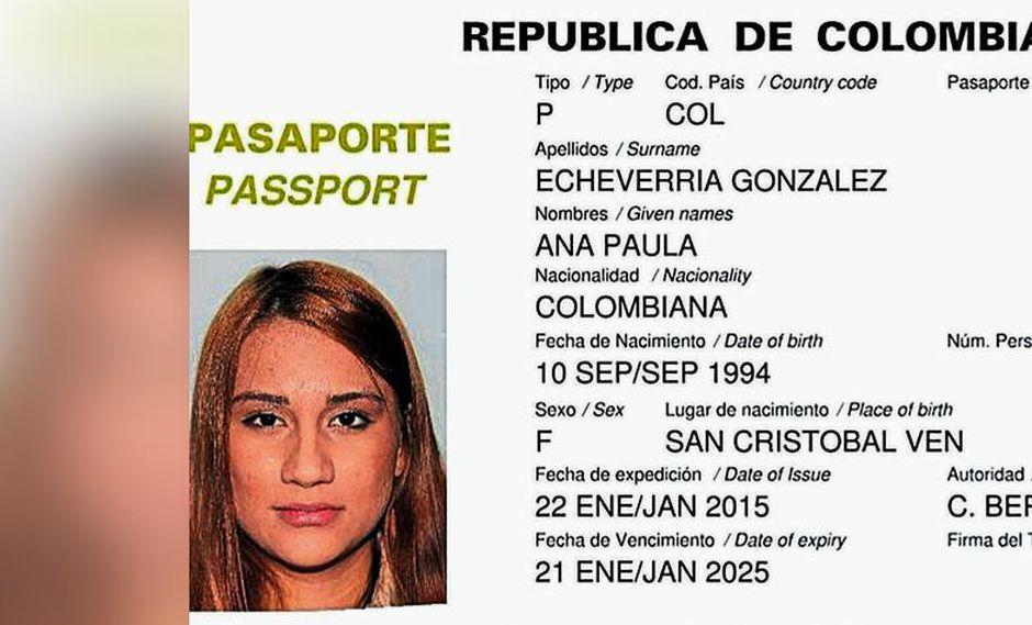 Ana Paula Echeverría nació en Venezuela, pero su nacionalidad y familia son colombianas.  (Foto: El Tiempo)