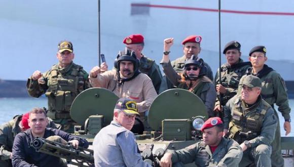Esta imagen fue publicada en la mañana del 10 de septiembre desde la cuenta oficial de Nicolás Maduro. Foto: Twitter de Nicolás Maduro.