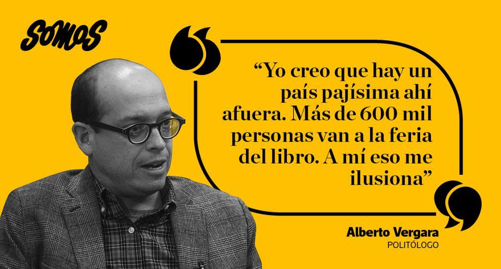 Las mejores citas del politólogo Alberto Vergara. (Diseño: El Comercio)