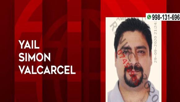 """El hijo de Yehude Simon fue detenido en un inmueble de La Molina, el último lunes 28 de setiembre.(Foto: captura de video/ """"América Noticias"""")"""