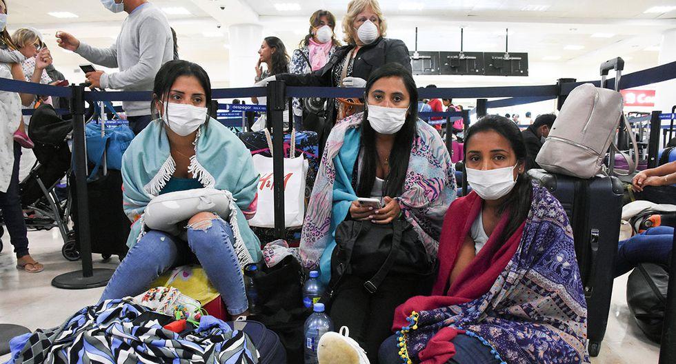 En Perú, se reportan cinco fallecidos y 397 contagiados hasta el momento  en 7486 pruebas. (AFP)