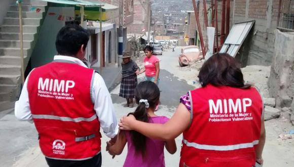 La asistencia económica de S/600 beneficiará a los hijos e hijas de las víctimas de feminicidios. (Foto: Mimp)