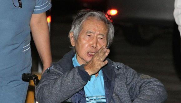 El ex presidente Fujimori goza de libertad desde el 24 de diciembre por el indulto humanitario y gracia presidencial que le concedió PPK. (Foto: El Comercio)