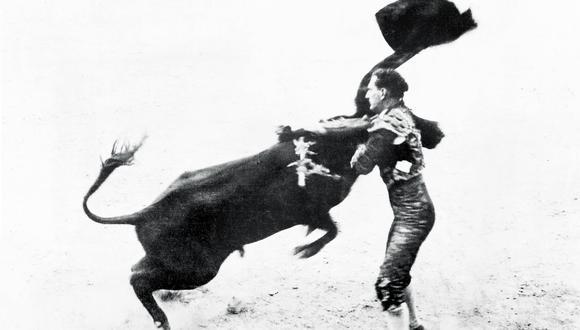"""Sidney Franklin, en una fotografía sin fecha, comenzó a torear en México, adonde se mudó para escapar a las burlas de su padre debido a su interés por las artes. Foto: © """"The New York Times"""""""