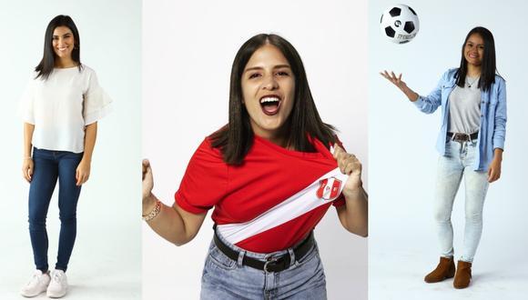 Jeanet Sosa, Pamela Ríos Calmet y Vanessa Herrera son algunas de las mujeres periodistas que destacan en el periodismo deportivo. (Fotos: Instagram/ Difusión)