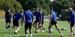 España: Atlético de Madrid continúa su preparación para el regreso del fútbol