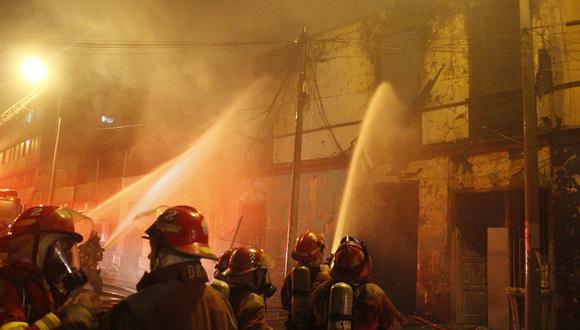 El Cuerpo General de Bomberos de Lima registró 14.263 incendios durante el 2019 a nivel nacional. (Foto: El Comercio)