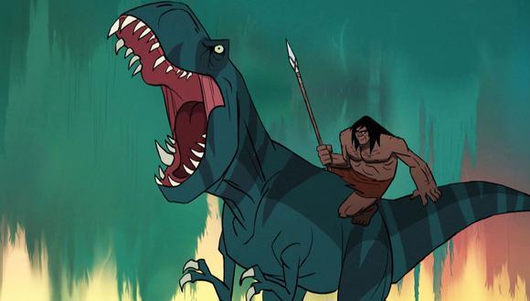 """""""Primal"""", del ruso Genndy Tartakovsky, uno de los mayores talentos de Hollywood en animación. (Foto: HBO Max)"""