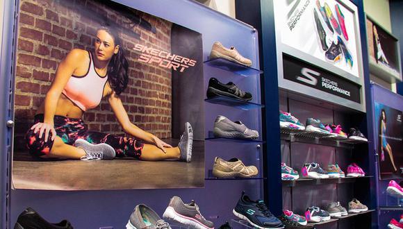 La marca de calzado deportivo Skechers abrió una tienda en Real Plaza Arequipa en este mes de julio. La tienda cuenta con una superficie de más de 130 metros cuadrados y se sumará a la que ya se encuentra en Real Plaza Trujillo (Foto: Plaza Norte)