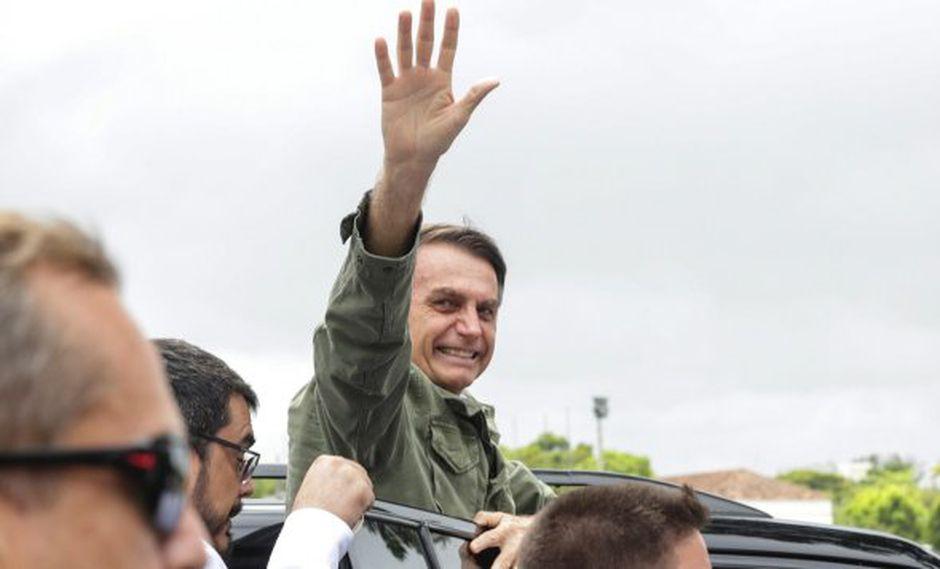 """""""¡No hay dudas de que cambiaremos la orientación que los gobiernos anteriores le dieron a Brasil"""", señaló el presidente de Brasil, Jair Bolsonaro."""
