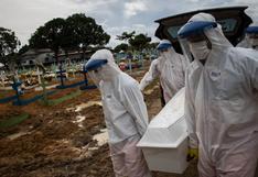 Brasil encadena cinco días con más de 1.300 muertes diarias por coronavirus