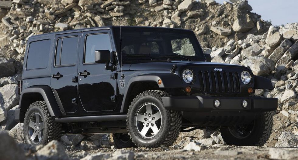 Jeep Wrangler: Kobe Bryant también poseía la todoterreno Wrangler en la edición especial Call of Duty.
