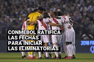 CONMEBOL ratificó que en octubre se jugarán las primeras fechas para el Mundial Qatar 2022