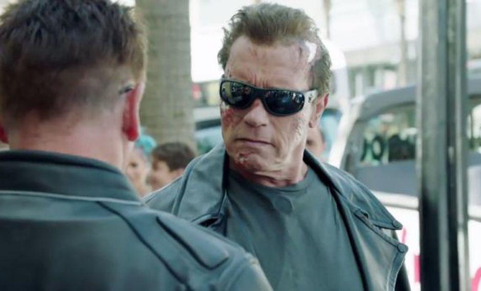 Schwarzenegger paseó por Los Ángeles como 'Terminator' [VIDEO]
