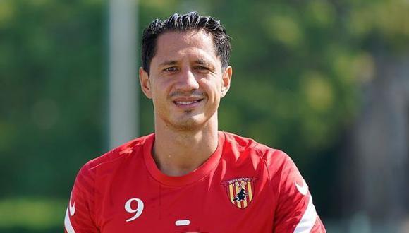 Gianluca Lapadula tiene contrato con Benevento hasta mediados del 2023. (Foto: Benevento)