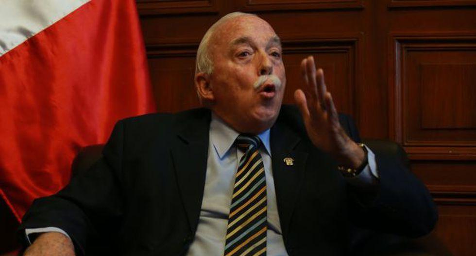 Carlos Tubino ha asumido la vocería titular de Fuerza Popular. (Foto: Archivo El Comercio)