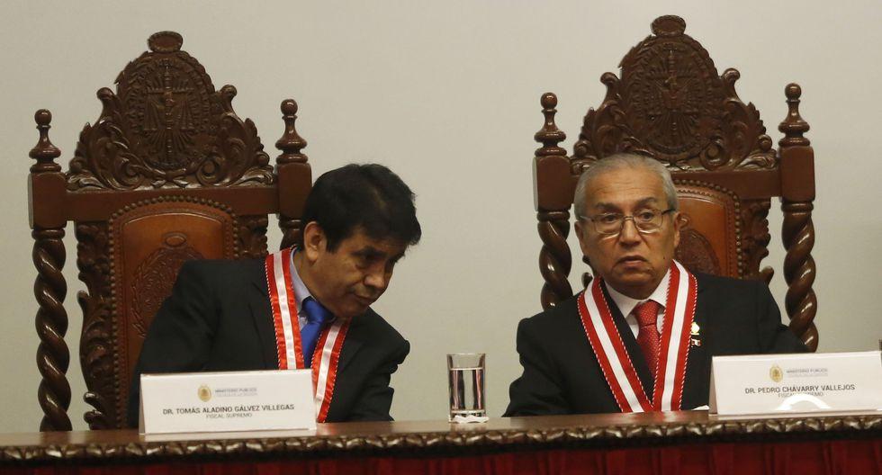 El fiscal supremo Tomás Gálvez fue uno de los que votó a favor de la juramentación de Pedro Chávarry. (Foto: USI)