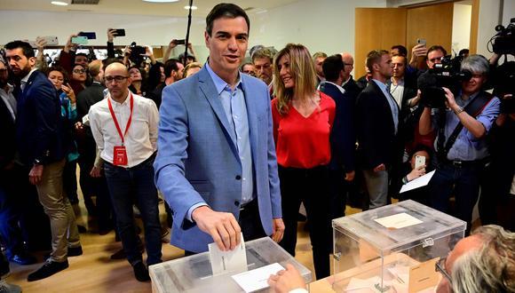 Elecciones en España: Pedro Sánchez espera que los españoles voten por estabilidad y contra incertidumbre. (AFP).
