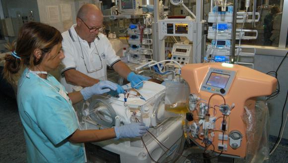 Italianos crean una máquina de diálisis para recién nacidos