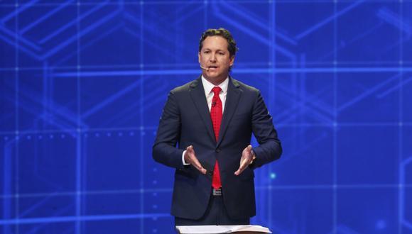 El candidato presidencial por Somos Perú consideró que la empresa privada puede facilitar la vacunación de los peruanos. (Foto: El Comercio)