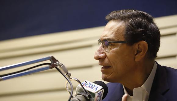 Fiscalía de la Nación inició investigación preliminar al expresidente Martín Vizcarra. (Foto: Presidencia)