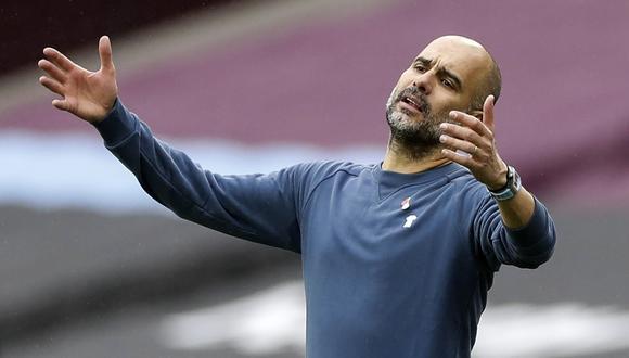 Pep Guardiola reconoce que sus jugadores están al límite de sus capacidades | Foto: EFE