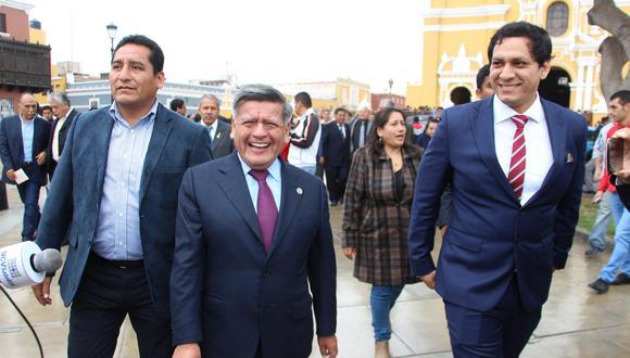 César Acuña fue dos veces alcalde de Trujillo y una vez gobernador regional de La Libertad. (Foto: Archivo El Comercio)
