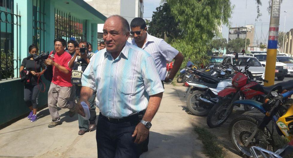 Alcalde de Chiclayo denuncia que lo quieren matar