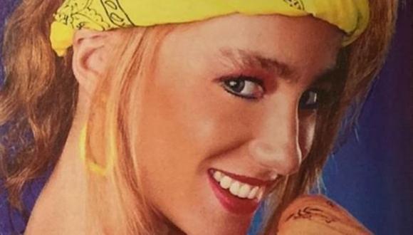 """July Maiocci tenía 23 años cuando incursionó en el televisión animando el programa infantil """"El show de July"""". (Foto: archivo personal July Maiocchi)"""