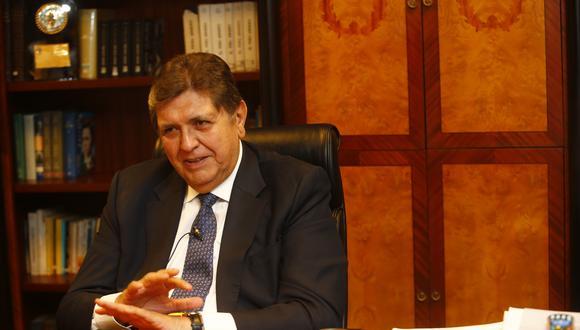 Alan García pidió el sábado en la noche un asilo diplomático a Uruguay alegando una persecución política en su contra. (Foto: USI)