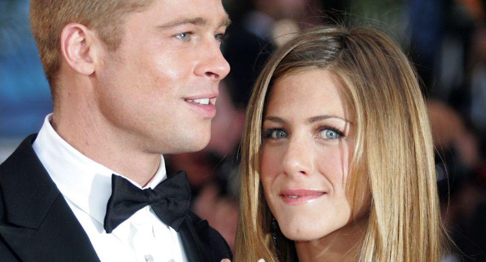 Tras siete años de relación, en enero del 2005, Jennifer Aniston y Brad Pitt anunciaron su separación definitiva; pese a ello, hoy serían buenos amigos (Foto: AFP)