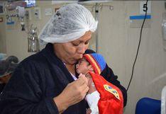 La Victoria: premian bebes prematuros 'superhéroes' en el hospital Almenara | FOTOS
